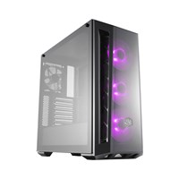 Case Cooler Master MasterBox MB520 TG (Mid Tower Đen/Led RGB)