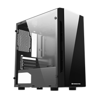 Case XIGMATEK SCORPIO II (EN43408) - M-ATX, 2 SIDE TEMPERED GLASS, NO FAN