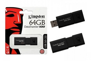 USB Kingston 64GB DT100G3 USB 3.0